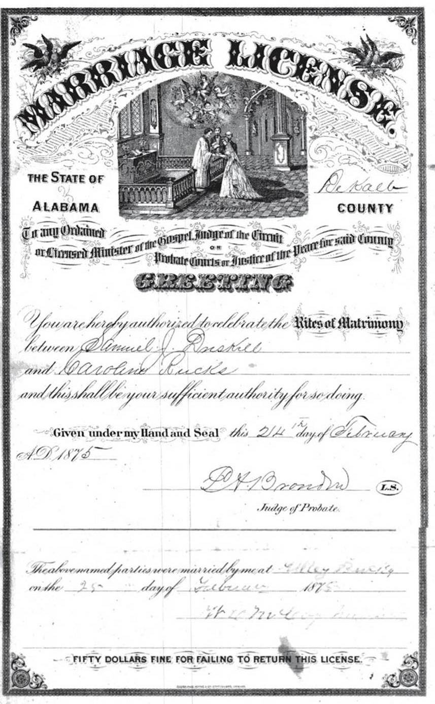 The Usgenweb Archives Project Dekalb County Alabama Vital Records