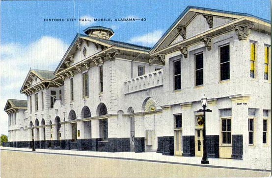 Penny Postcards From Mobile County Alabama