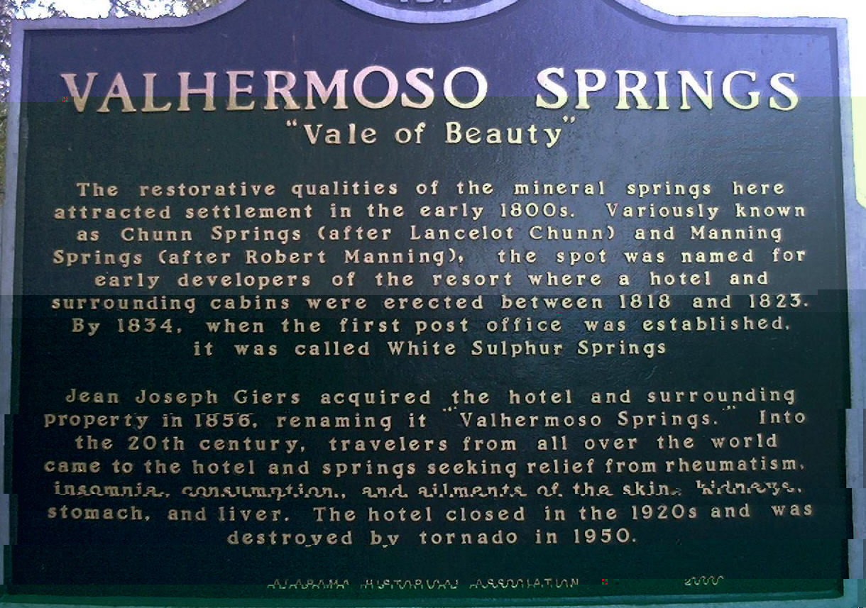 valhermoso springs All zip code directory for 35775 - valhermoso springs alabama, usa - zip code  map, radius, statistics, weather in detail for zip code 35775 in valhermoso.