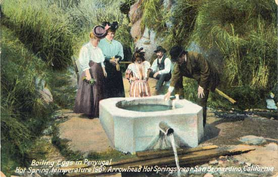 Penny Postcards From San Bernardino County Ca