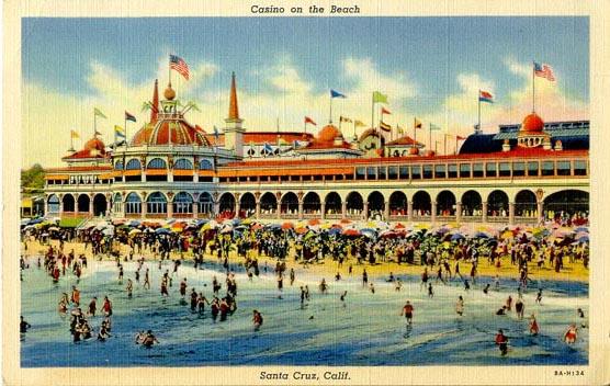 Penny Postcards From Santa Cruz County California