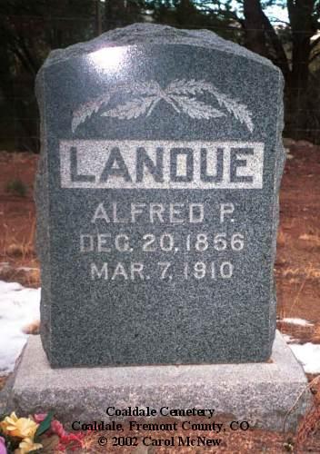 Coaldale cemetery fremont county co
