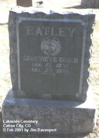 Lakeside Cemetery Headstones Canon City Fremont County
