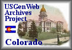 The USGenWeb Archives Project - Colorado