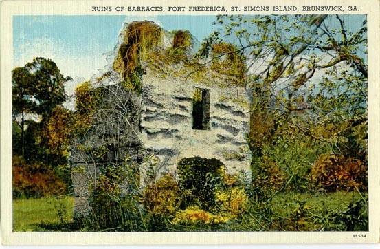 Penny Postcards From Glynn County  Georgia