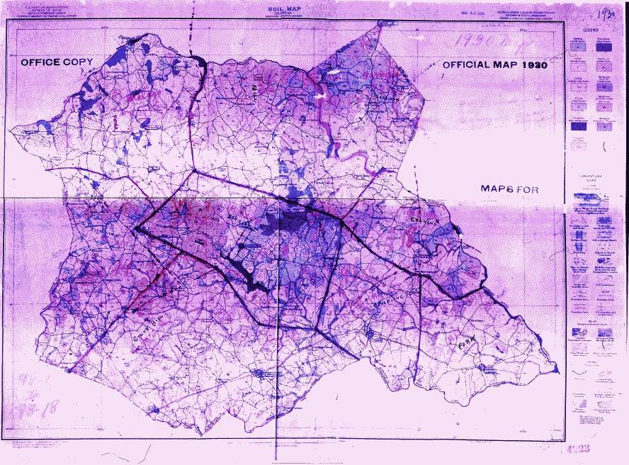 Georgia Census Records - 1920 us census map for meriweather county georgia