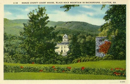 penny postcards from rabun county  georgia