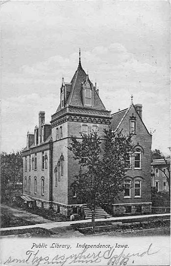 Public Library Independence Pre 1907