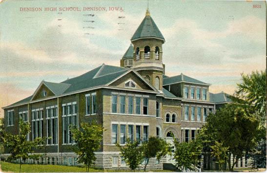 Denison Iowa High School Denison High School