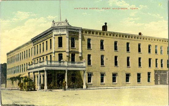Anthes Hotel Fort Madison