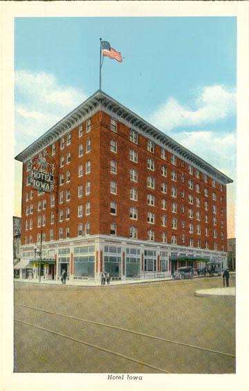 Hotel Iowa Keokuk