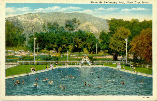 Woodbury county ia penny postcards for Public swimming pools in riverside ca