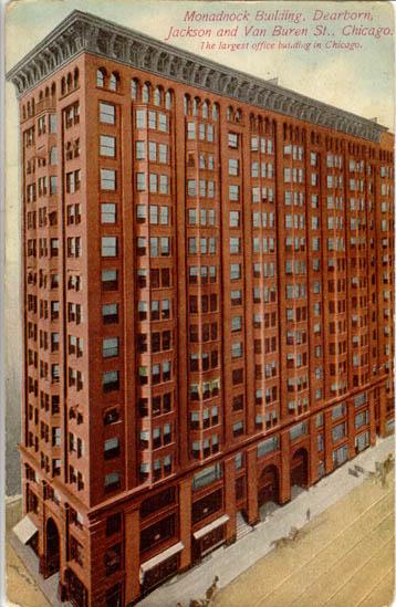 Chicago. Buildings. American Furniture Mart, Monadnock Building