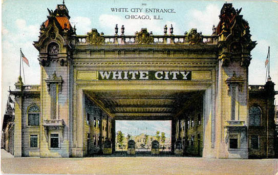 Penny Postcards From Illinois White City Amusement Park