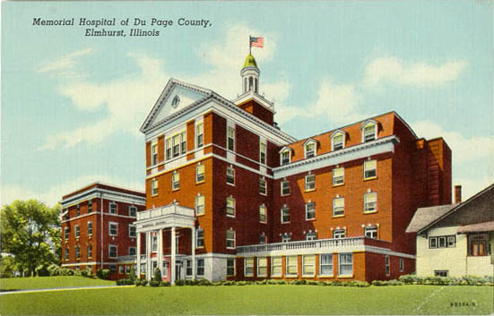 Penny Postcards From Dupage County Illinois