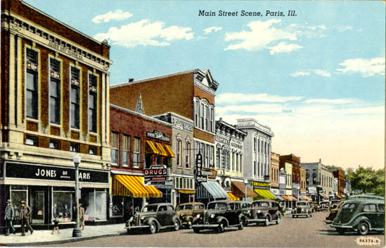 Penny Postcards From Edgar County Illinois