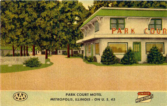 Penny Postcards from Massac County, Illinois