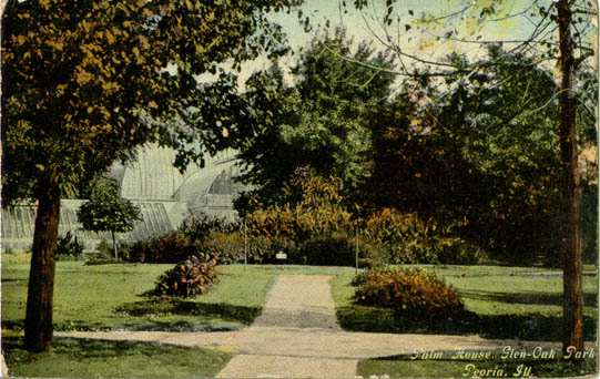 Penny postcards from peoria county illinois for Oak glen park