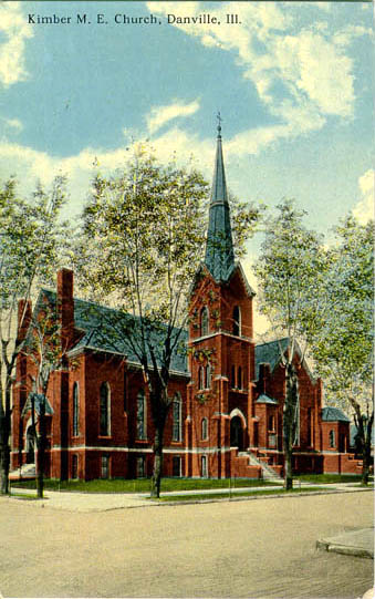 Penny Postcards From Vermilion County Illinois