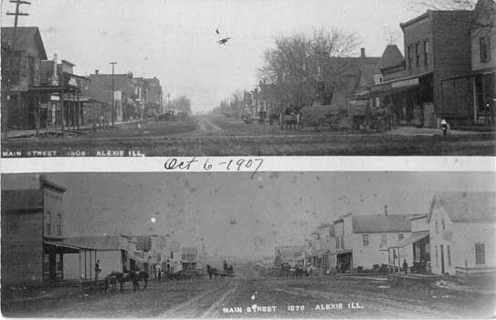Penny Postcards from Warren County, Illinois
