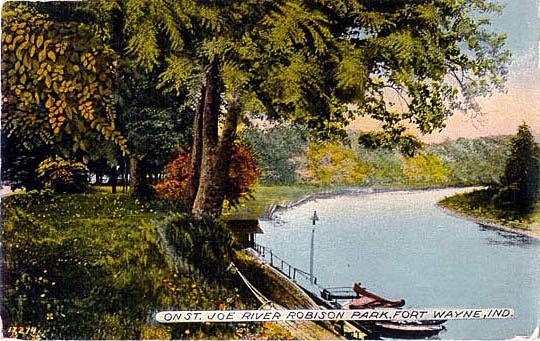 Penny Postcards From Allen County Indiana