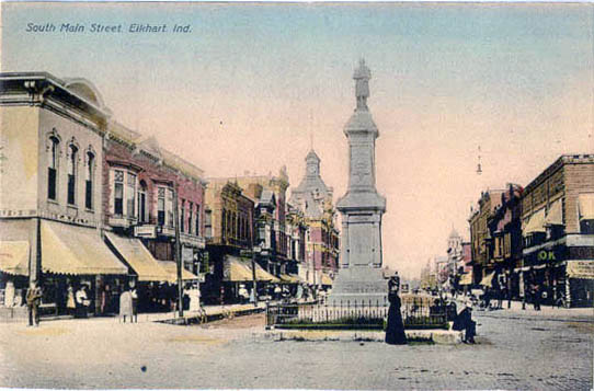 Y Elkhart Penny Postcards from E...