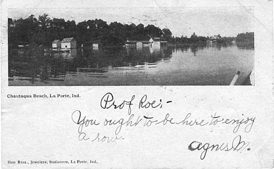 Penny postcards from la porte county indiana for What county is laporte indiana in