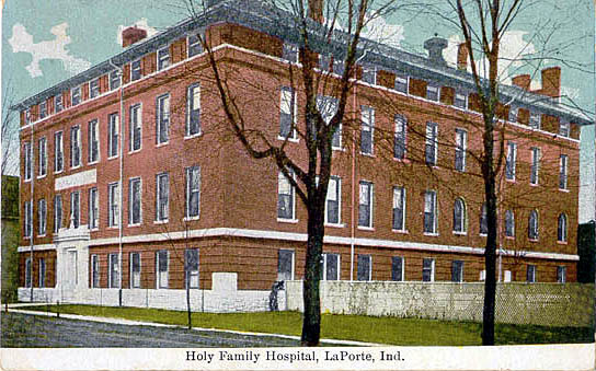 Penny postcards from la porte county indiana for Iu laporte hospital