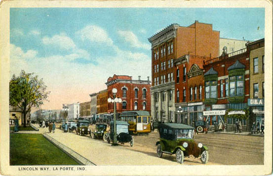Penny postcards from la porte county indiana for La porte county in