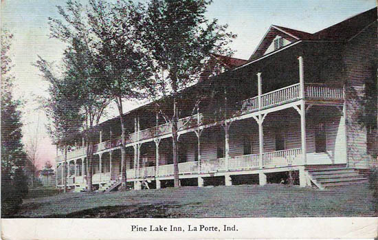 Penny postcards from la porte county indiana for Indiana la porte