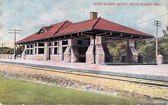 Penny Postcards From Noble County Indiana