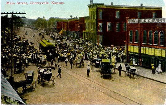 penny postcards from montgomery county  kansas