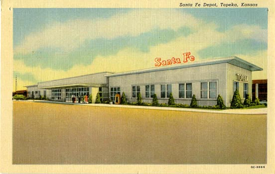 Penny Postcards From Shawnee County Kansas