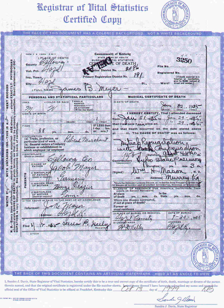 Enchanting How To Get A Birth Certificate In Ky Pictures Online