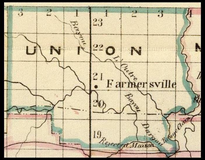 Map Louisiana Township Range