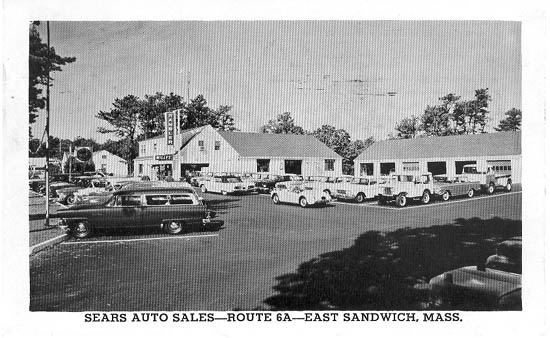 Mass Auto Sales >> Penny Postcards from Barnstable County, Massachusetts