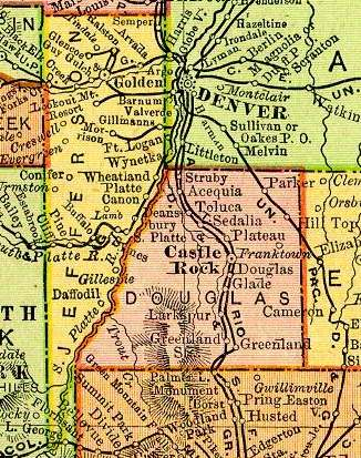 Jefferson County, Colorado: Maps and Gazetteers