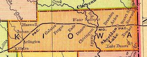 Kiowa County Colorado Maps And Gazetteers