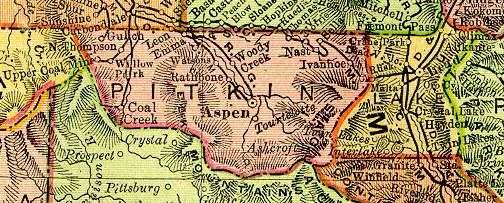 Lake County Colorado Map.Lake County Colorado Maps And Gazetteers