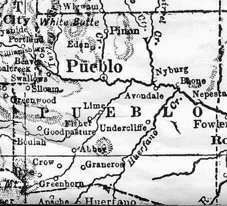 Pueblo County, Colorado: Maps and Gazetteers