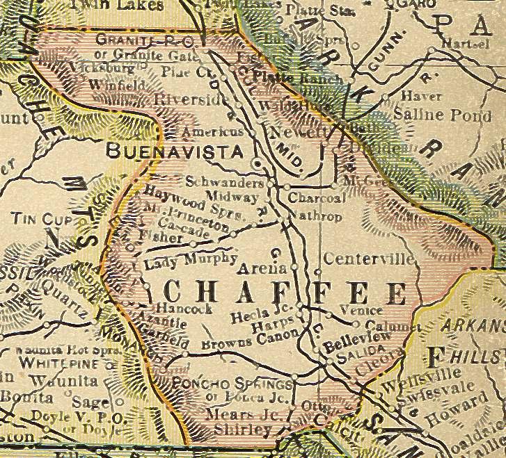 Colorado Maps US Digital Map Library Colorado Atlas Page - 1920 map of us