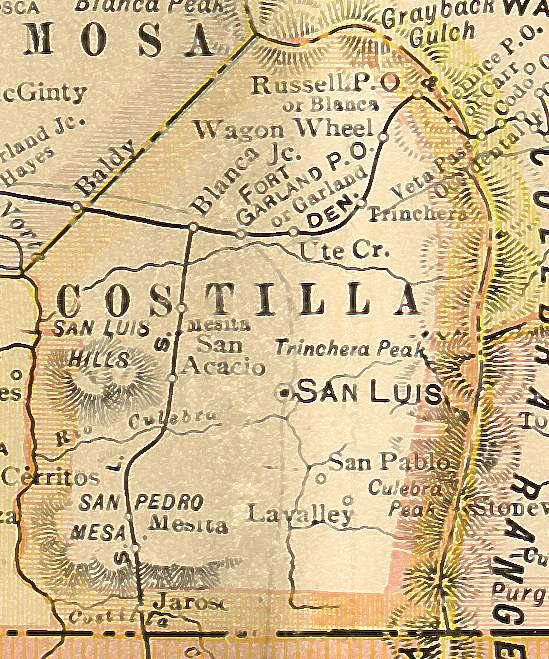 Iowa Divorce Records: Costilla County, Colorado: Genealogy, Census, Vital Records