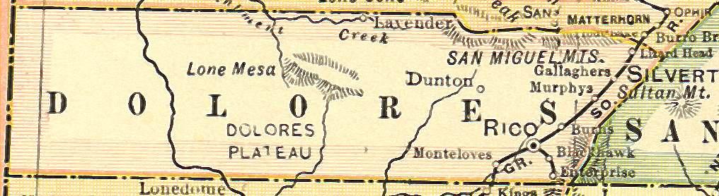 Colorado Maps US Digital Map Library Colorado Atlas Page - 1920 us road map