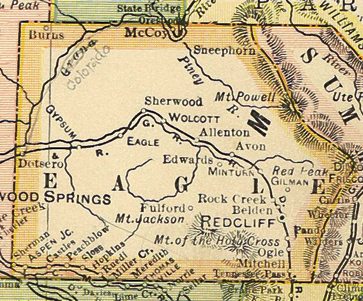 Colorado Maps US Digital Map Library Colorado Atlas Page - Colorado county map