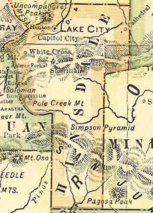 Colorado Maps US Digital Map Library Colorado Atlas Page - 1920 us map