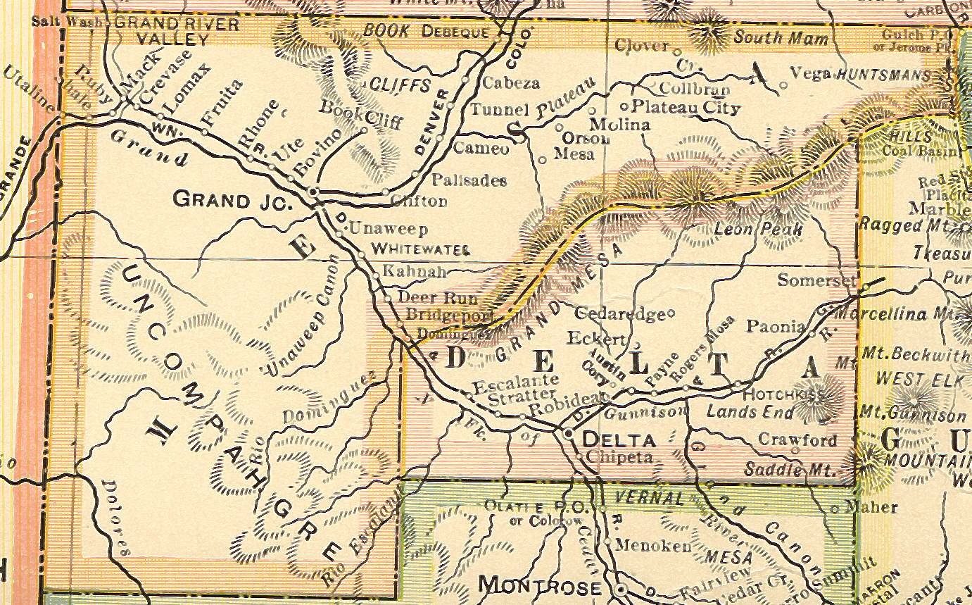 Colorado Maps Us Digital Map Library Colorado Atlas 1920 Page