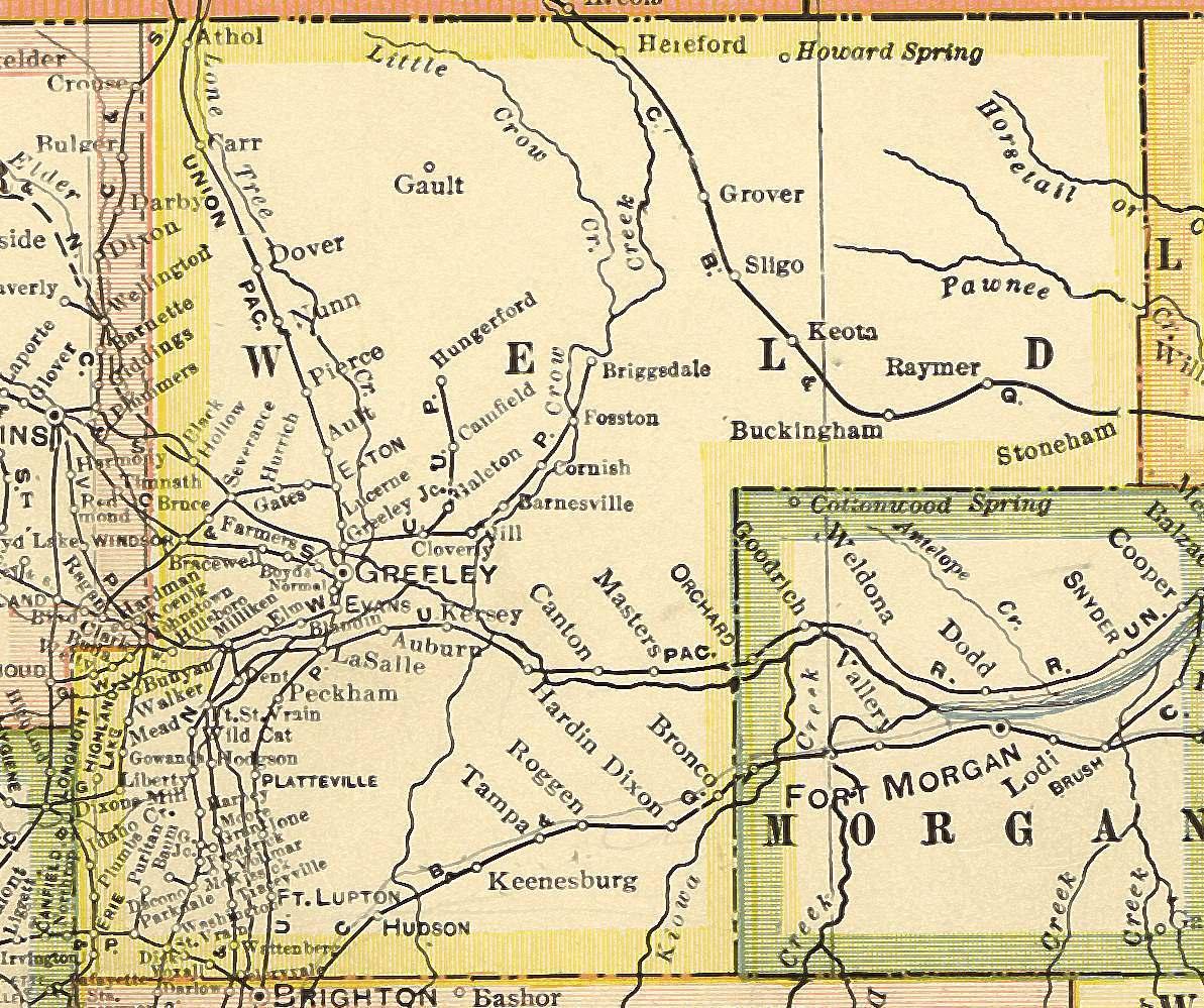 Colorado Maps Us Digital Map Library Colorado Atlas 1920 Page