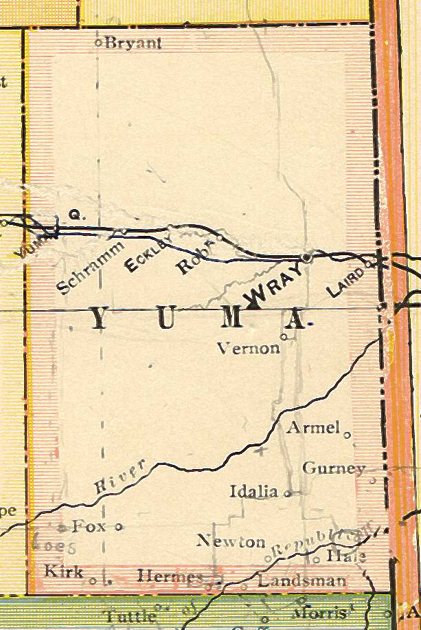Yuma County, Colorado: Maps and Gazetteers