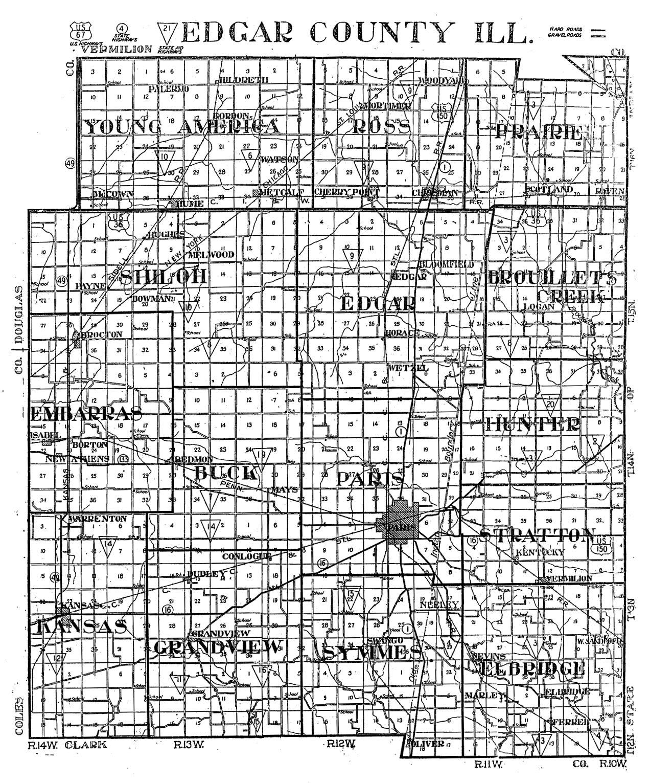 Illinois edgar county kansas -  Grandview Hunter Kansas Paris Prairie Ross Shiloh Pt 1 Shiloh Pt 2 Stratton Young America Pt 1 Young America Pt 2 Edgar County Il