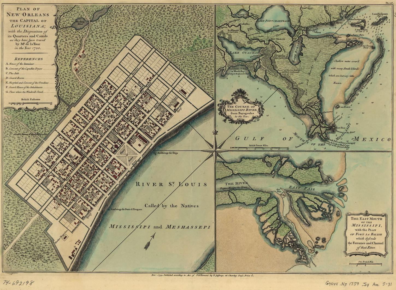 Orleans Parish Louisiana Maps And Gazetteers - Historic maps louisiana